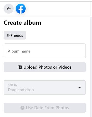 Facebook-private-album