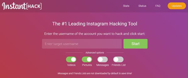 Instagram-hack